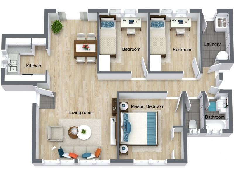 20 Long Street, Mooroobool QLD 4870 Floorplan
