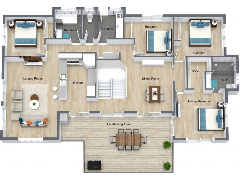 17 Guthrie Close, Bentley Park QLD 4869 Floorplan