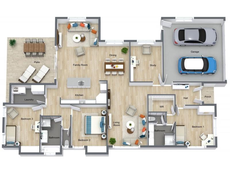 26 Cliffdale Street, Bentley Park QLD 4869 Floorplan