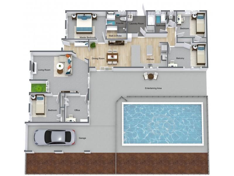 6-8 Klarwein Close, Gordonvale QLD 4865 Floorplan