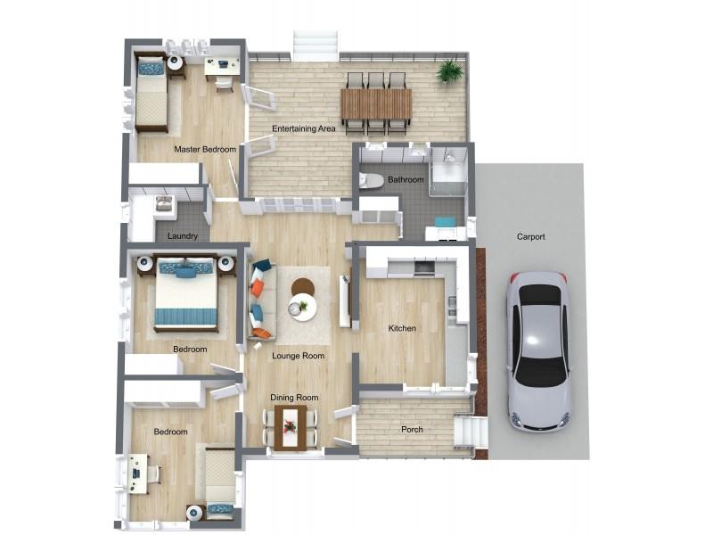 228 McCoombe Street, Bungalow QLD 4870 Floorplan