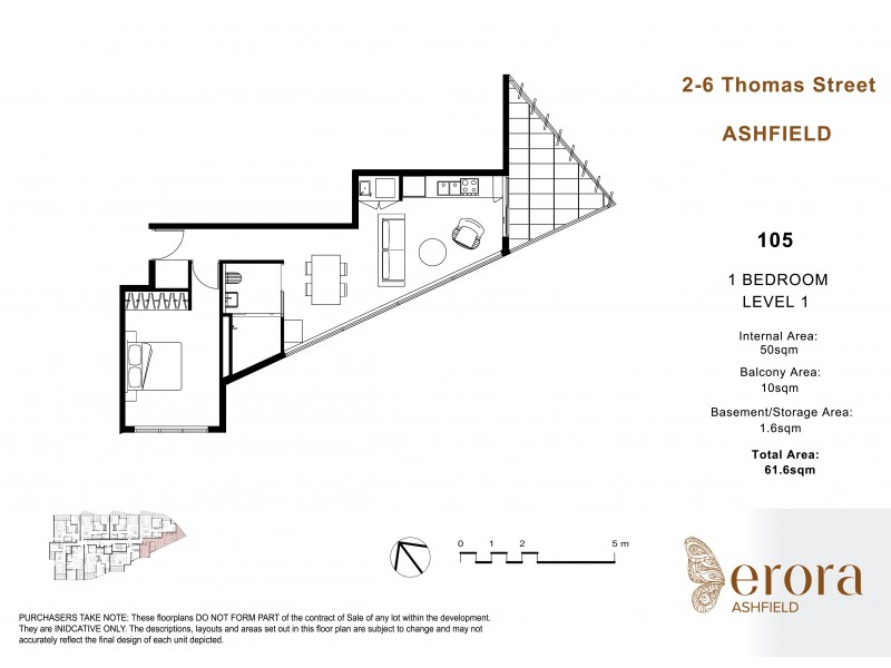 Ashfield 2-6 Thomas S, Ashfield NSW 2131 Floorplan