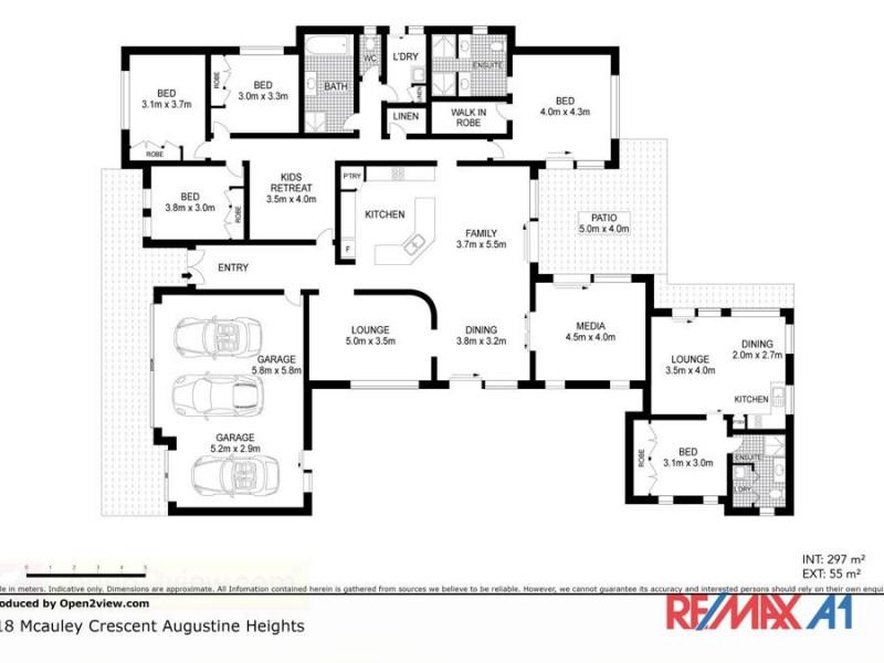 18 McAuley Crescent, Augustine Heights QLD 4300 Floorplan