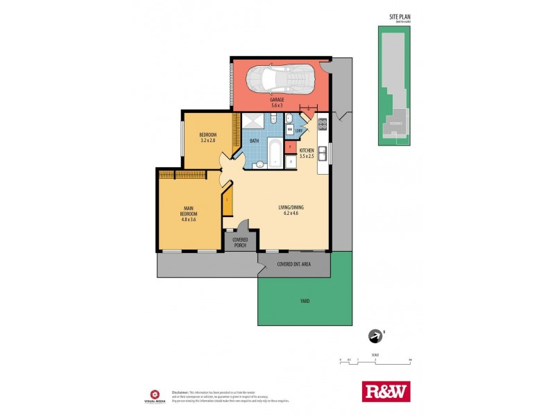 1/87 Ocean Beach Road, Woy Woy NSW 2256 Floorplan