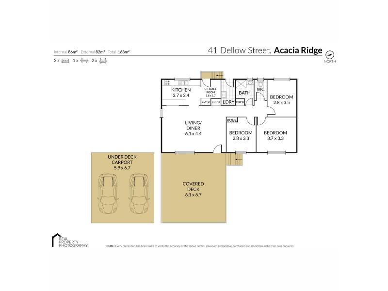 41 Dellow Street, Acacia Ridge QLD 4110 Floorplan