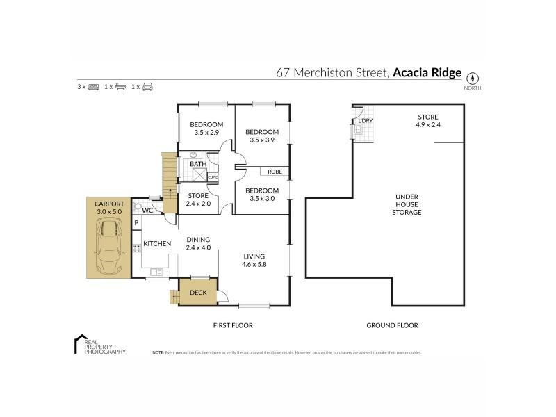 67 Merchiston Street, Acacia Ridge QLD 4110 Floorplan