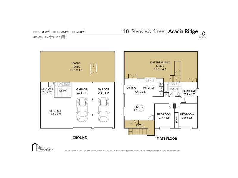 18 Glenview Street, Acacia Ridge QLD 4110 Floorplan