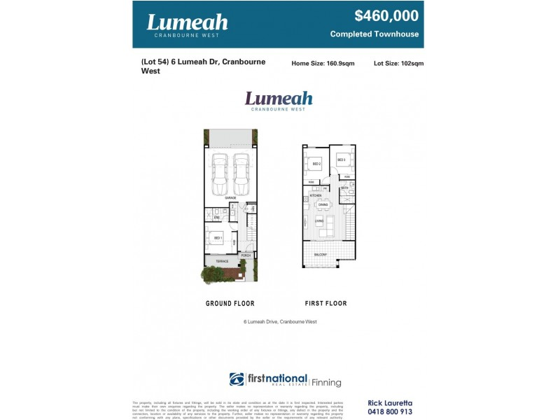 Lot 54/6 Lumeah Drive, Cranbourne West VIC 3977