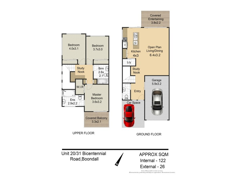 20/31 Bicentennial Road, Boondall QLD 4034 Floorplan