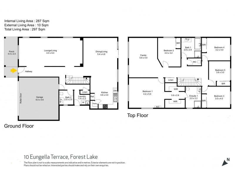 10 Eungella Tce, Forest Lake QLD 4078 Floorplan