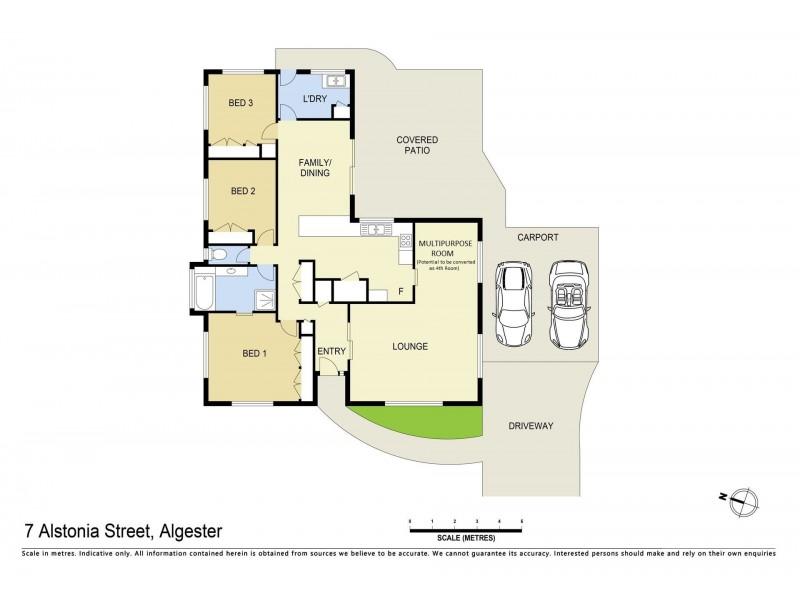 7 Alstonia Street, Algester QLD 4115 Floorplan