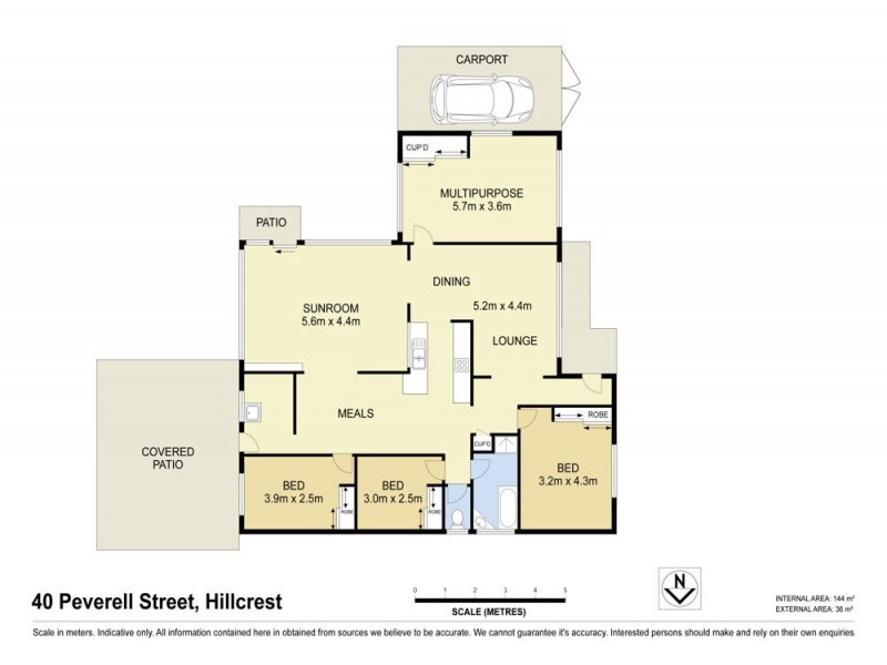 40 Peverell Street, Hillcrest QLD 4118 Floorplan