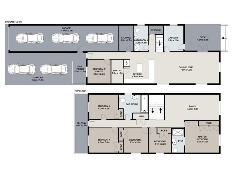 16 Eskgrove Street, East Brisbane QLD 4169 Floorplan