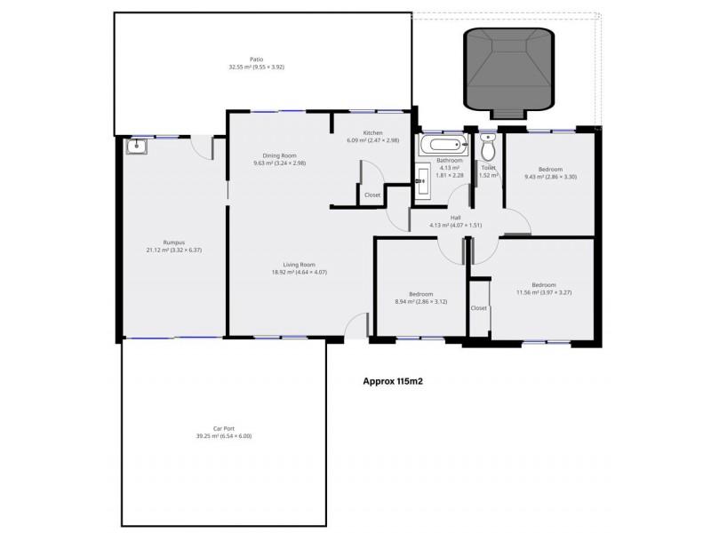 11 Nigel Street, Redbank Plains QLD 4301 Floorplan