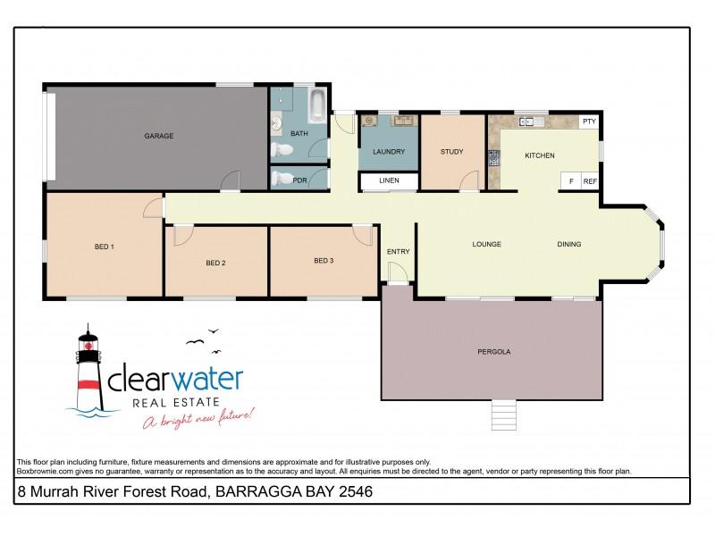 8 Murrah River Forest Rd, Barragga Bay NSW 2546 Floorplan