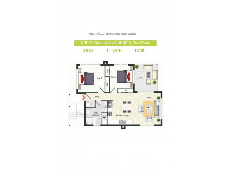 6/38 Pittwin Road, Capalaba QLD 4157 Floorplan