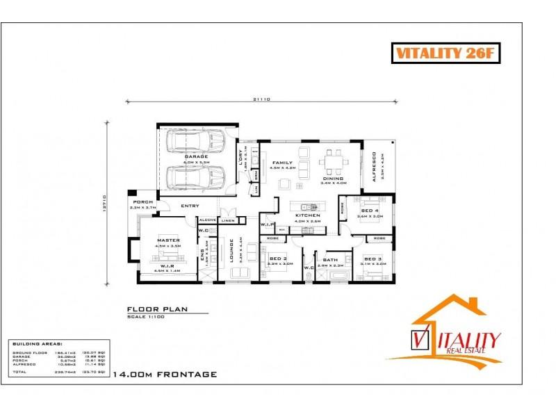 Beaconsfield VIC 3807 Floorplan