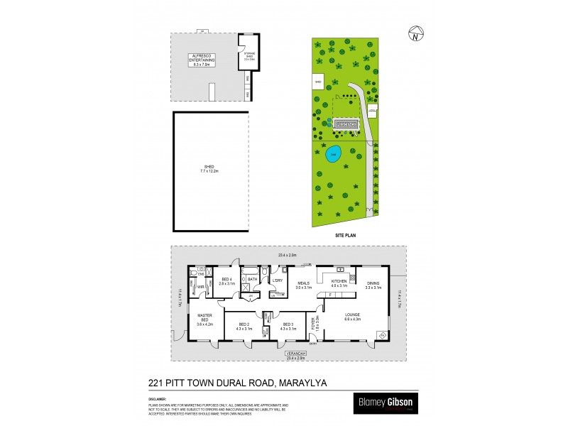 Maraylya NSW 2765 Floorplan