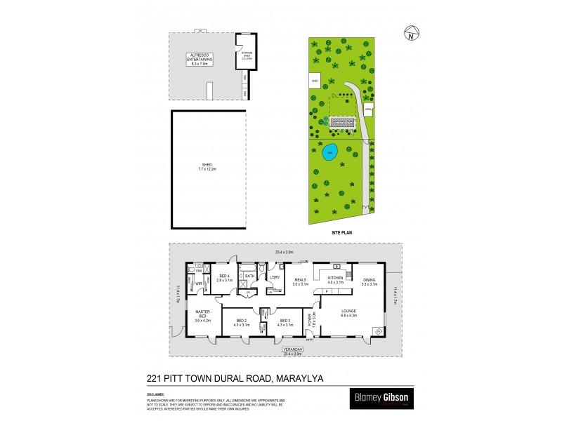 221 Pitt Town Dural Road, Maraylya NSW 2765 Floorplan