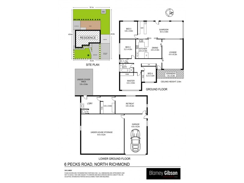 6 Pecks Road, North Richmond NSW 2754 Floorplan