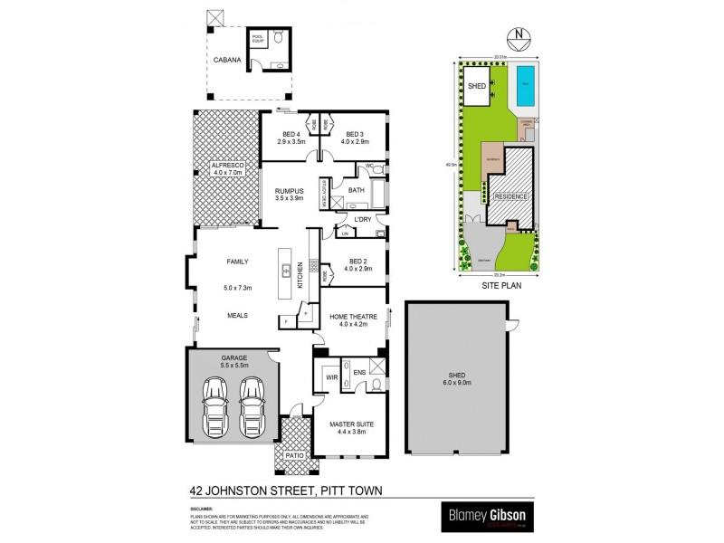 42 Johnston Street, Pitt Town NSW 2756 Floorplan