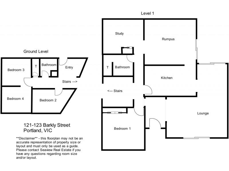121-123 Barkly Street, Portland VIC 3305 Floorplan