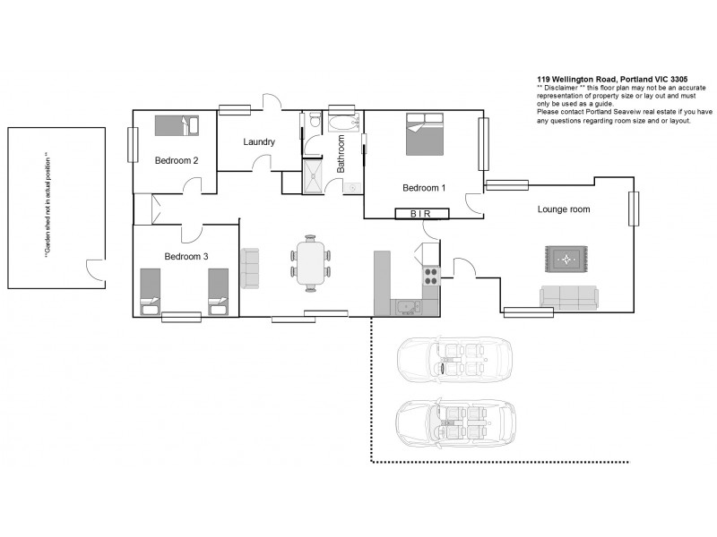 119 Wellington Road, Portland VIC 3305 Floorplan