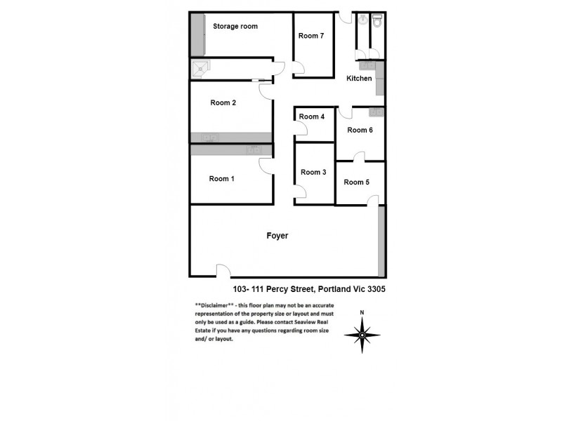 Shop 16/103-111 Percy Street, Portland VIC 3305 Floorplan
