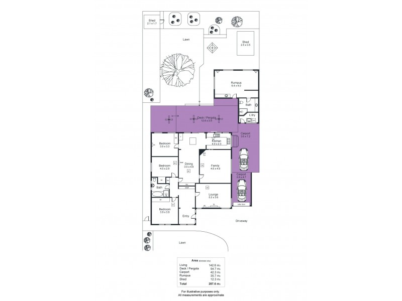 22 Edward Street, Cumberland Park SA 5041 Floorplan