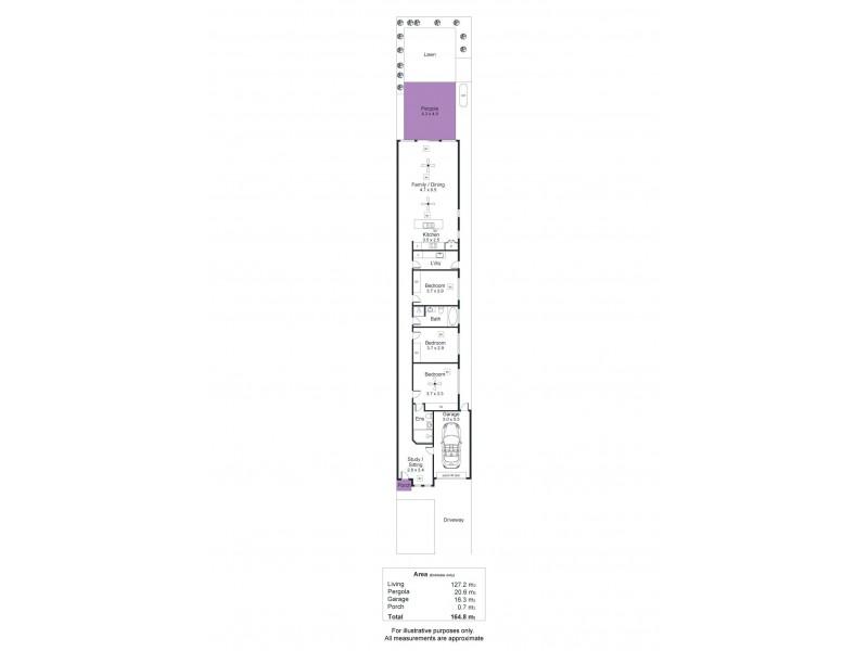 37 Waterman Terrace, Mitchell Park SA 5043 Floorplan