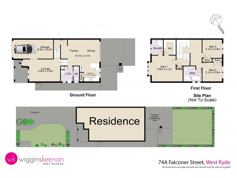 74A Falconer Street, West Ryde NSW 2114 Floorplan