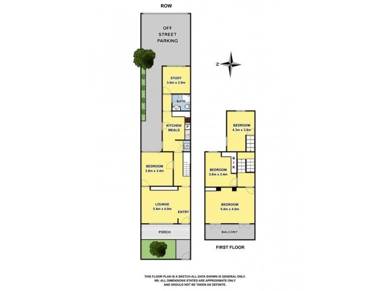 313 Montague Street, Albert Park VIC 3206 Floorplan