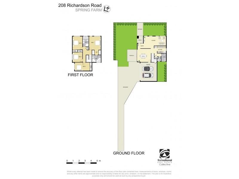 208 Richardson Road, Spring Farm NSW 2570 Floorplan