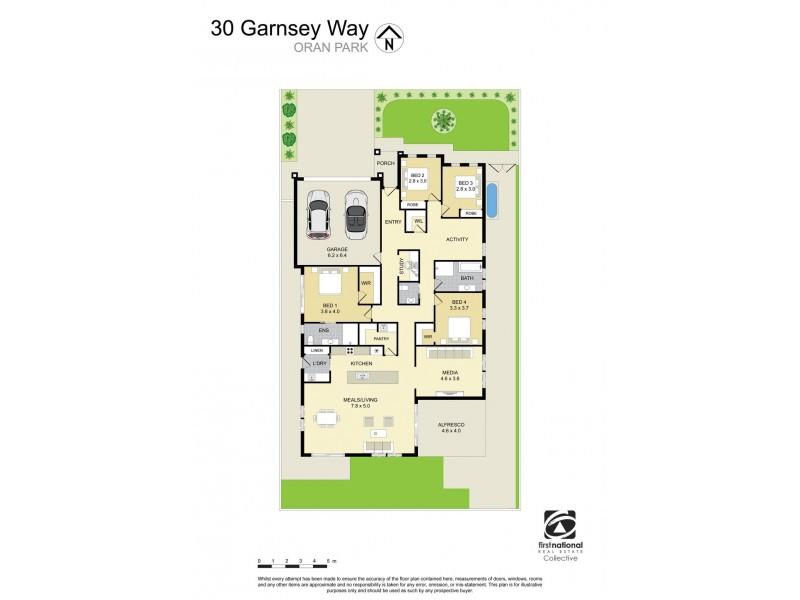 30 Garnsey Way (Catherine Park Estate), Oran Park NSW 2570 Floorplan
