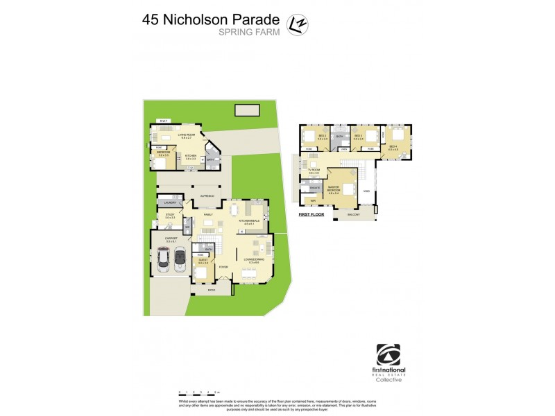 45 Nicholson Parade, Spring Farm NSW 2570 Floorplan