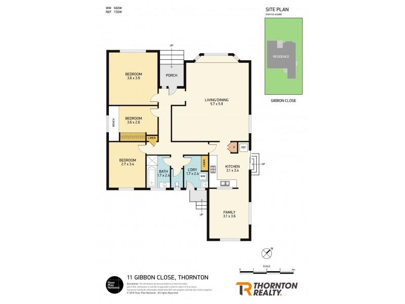 11 Gibbon Close, Thornton NSW 2322 Floorplan