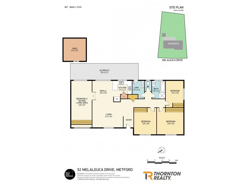 52 Melaleuca Drive, Metford NSW 2323 Floorplan