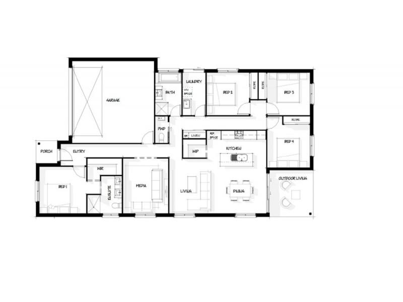 42 Galatea Street, Burpengary QLD 4505 Floorplan