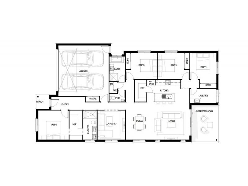 Burpengary QLD 4505 Floorplan