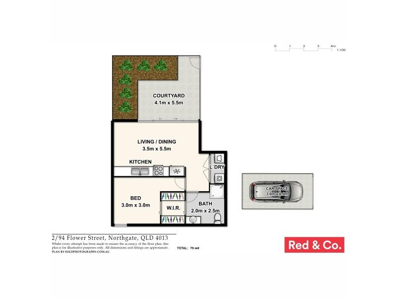 2/94 Flower Street, Northgate QLD 4013 Floorplan