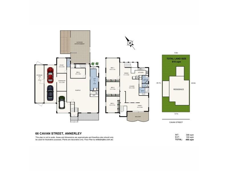 66 Cavan Street, Annerley QLD 4103 Floorplan