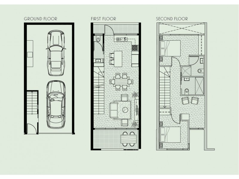 8/4 Florence Street, Brunswick VIC 3056 Floorplan