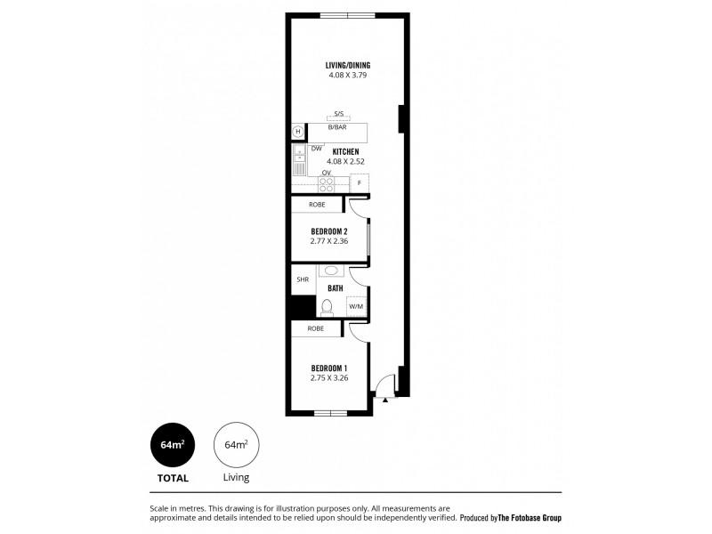 109/21-39 Bentham Street, Adelaide SA 5000 Floorplan