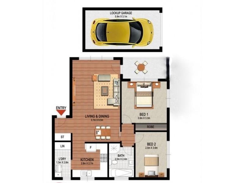3/32 Gladstone Street, Bexley NSW 2207 Floorplan