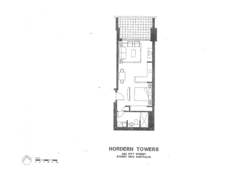 2706/393 Pitt Street, Sydney NSW 2000 Floorplan