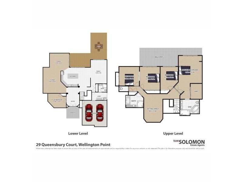 29 Queensbury Court, Wellington Point QLD 4160 Floorplan