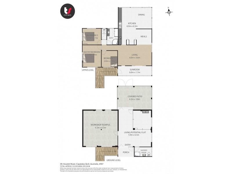 35 Howlett Road, Capalaba QLD 4157 Floorplan