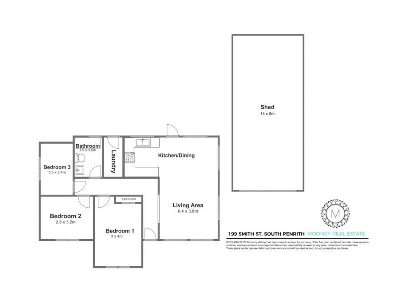 199 Smith Street, South Penrith NSW 2750 Floorplan