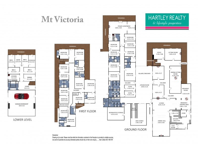 Mount Victoria NSW 2786 Floorplan