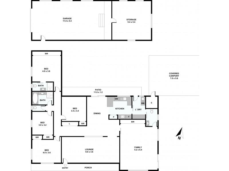 5 Enfield Avenue, Lithgow NSW 2790 Floorplan